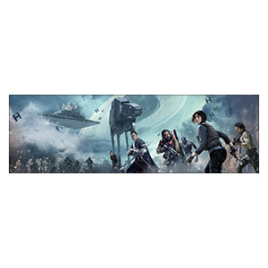 Star Wars. Размер: 190 х 60 см